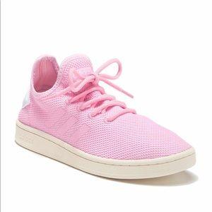 Women's Adidas Court Adapt Sneaker in Pink